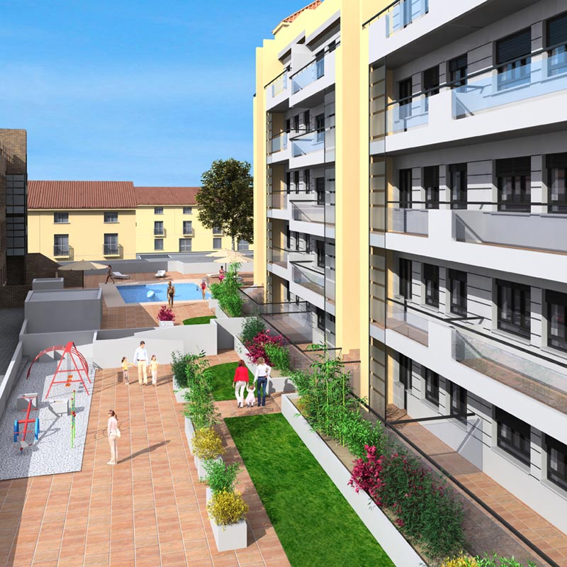 Residencial Jardines de Toledo Getafe