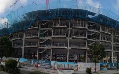 Avance Construcción Promoción «Shopping Center» Getafe