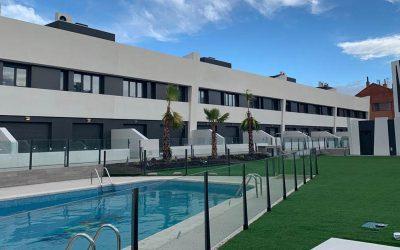 Finalización Construcción Promoción «Jameos del Agua» en Getafe